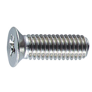 Bolton Pack Flat Head Sash Screw, Stainless Steel