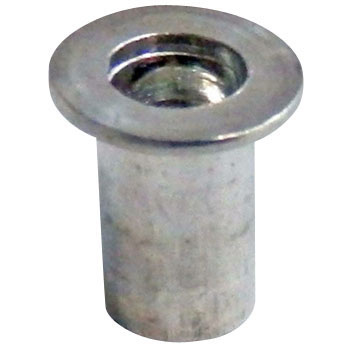 Bolton Pack Crimping Nut, Cheese HeadAluminum