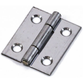 Thin Type Stainless Steel Hinge, 10pcs
