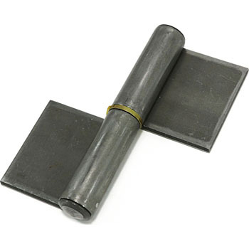 Extra Thick Type Welded Steel Hinge, Left, 2pcs