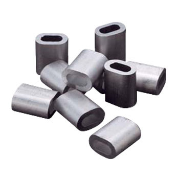 The Aluminum Sleeve for Nylon Covering Stainless Steel Wire Ropes
