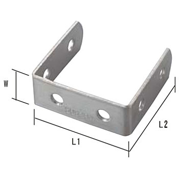 Joint Bracket 19 Type U Stainless Steel