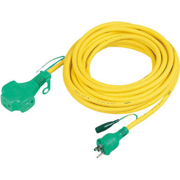 Extension Cord, Triple Pokkin, Grounding, Indoor, Extra Thick