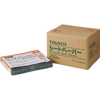 TRUSCO Abrasive Cloth Paper No.80