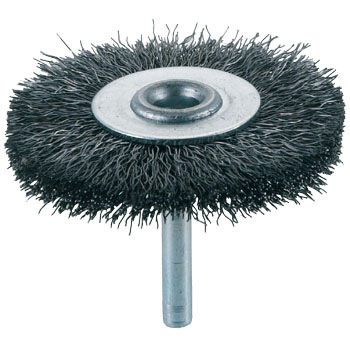 Shank Mounted Wheel Brush, 0.3mm