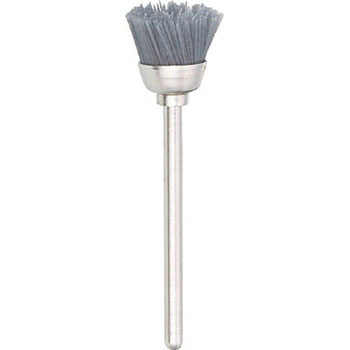 Cup-shaped brushes (shaft diameter 3 mm )