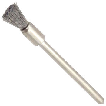 End type brush stainless steel