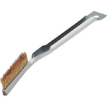 Gold handle brush