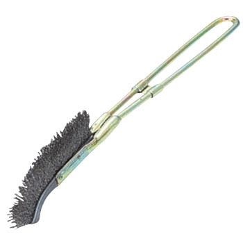 6J type channel brush stainless