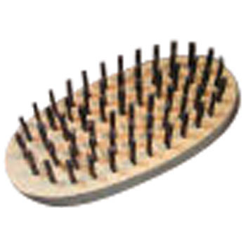 Oval 6-line brush hard steel wire