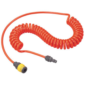 Urethane Coil Hose, Resin Coupler