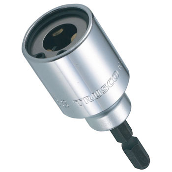 Electric Screwdriver Socket, Fully Threaded Screw