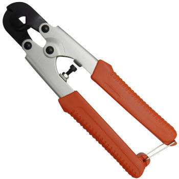 Wire cutters (aluminum handle type)
