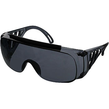 Single Lens Type Safety Glasses With Sides
