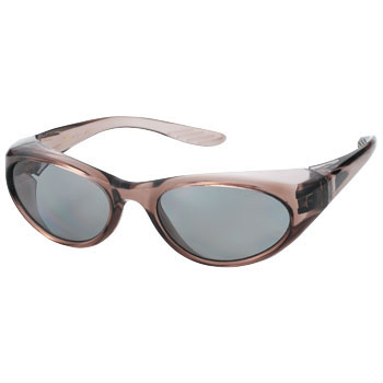Two Lens Type Safety Glasses, Polarized Lens