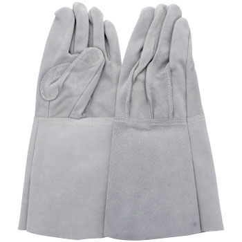 Leather Gloves Long Sleeves Type
