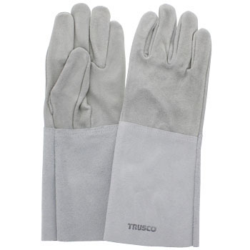 5 Fingers Cow Split Leather Welding Gloves