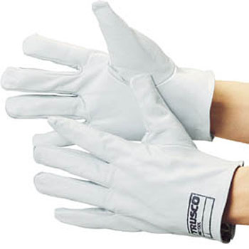 Sleeveless Leather Gloves, Made From Crest Leather