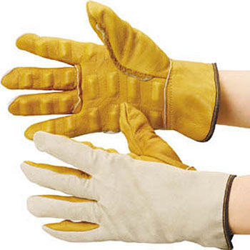 Safety Work Gloves, Vibration Isolation Leather Gloves