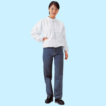 Tyvek Protective Clothes, Stand Up Collar Jacket