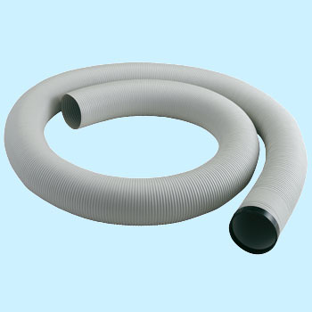 Exhaust duct for spot air conditioner