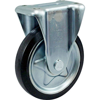Press Caster Rubber Wheel