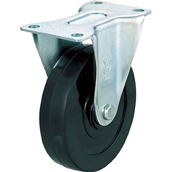 Fixed Rubber Wheel for Lifter, 100Mm