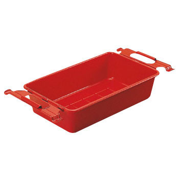 Parts BOX colored red with handle