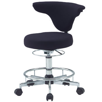 Medical Stool, Back