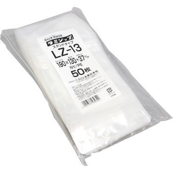 Plastic Zip Bag Stand Type Nylon
