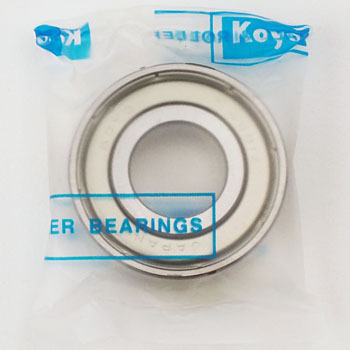 Single row deep groove ball bearing Double sided shield attached 6000 series