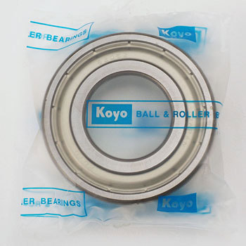Single row deep groove ball bearings with double sided shield 6200 series