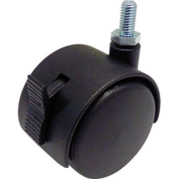 Pair Wheeled Caster TG Bolt Type, with Stopper