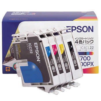 Ink Cartridge EPSON IC22, Genuine