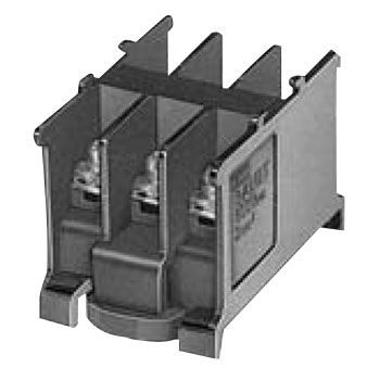 BA Series Terminal Block Self Up Shaped 3 Pole Type