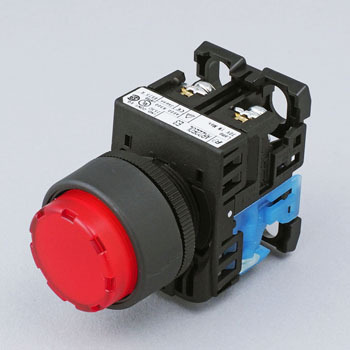Push-Button Switch AR22 Series. Cuspidate Type 24 Phi