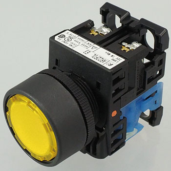 Push-Button Switch AR22 Series,Flat Type 24 Phi