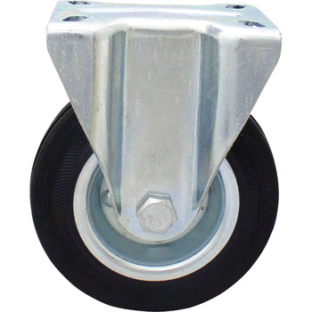 Rubber Rigid Caster