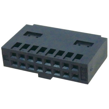 Connector PS Series for A Substrate Facing Wire Connector Socket Housing With Key