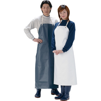 An Apron With A Tarpaulin Breast