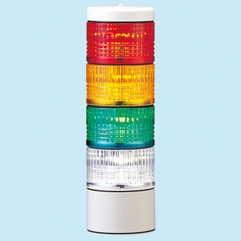 LED flat-screen compact laminated signal lamp LES type