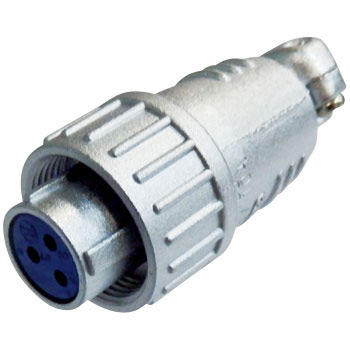 NJC Series Jis Standard Medium Size Metal Connector Straight Plug