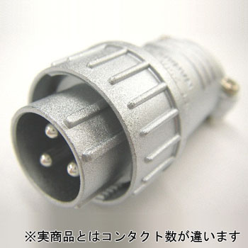 NJC series JIS standard medium type metal connector straight plug