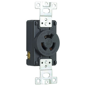 Flush Plug Receptacle Hook Type