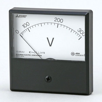 Mechanical Indicating Instrument Alternating-Current-Voltage Meter Square-Shaped Meter