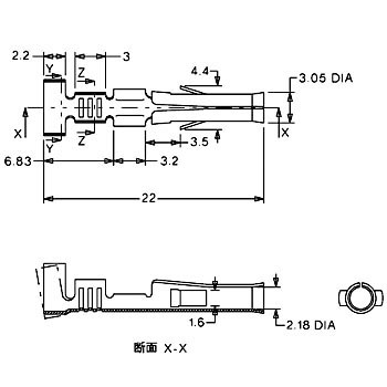 Joint Connector 6.7mm Pitch 3191 Series Termanal