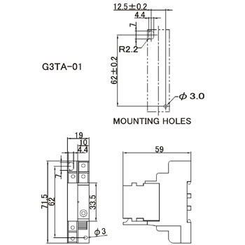 I/O Solid State And Relay G3Ta