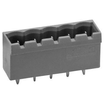 Printed circuit board connector terminal block XW4A (substrate side-plug straight pin)