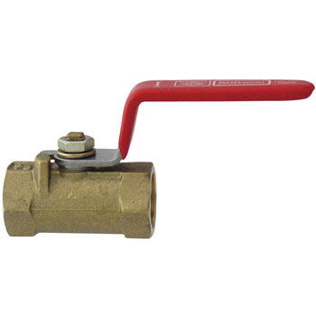 600 Type Ball Valve Made From Brass, Reduced Bore