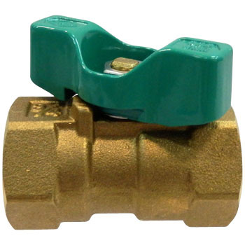 600 Type Ball Valve Made From Brass, Reduces Bore And T Handle